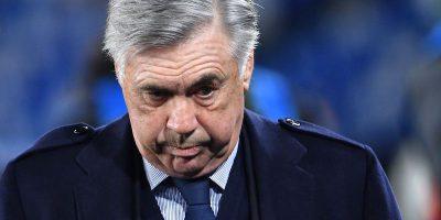 Il Napoli ha esonerato Carlo Ancelotti