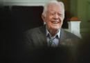 Jimmy Carter è stato dimesso dall'ospedale dov'era stato ricoverato per un'infezione delle vie urinarie