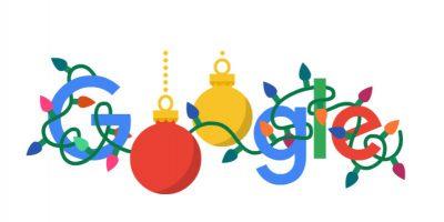 Buone Feste 2019, il doodle di Google per il giorno di Natale