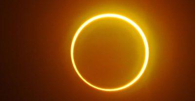 Le foto dell'eclissi anulare di Sole