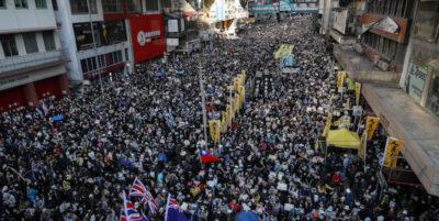 Hong Kong, nuova domenica di proteste