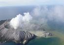 La grande eruzione in Nuova Zelanda