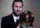 Lionel Messi ha vinto il Pallone d'Oro
