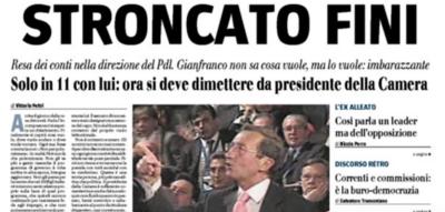 Un decennio di prime pagine