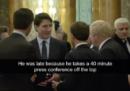 Il video in cui Trudeau, Macron e Johnson sembrano parlare di Trump