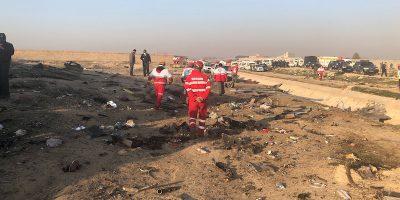 Un aereo civile ucraino si è schiantato in Iran