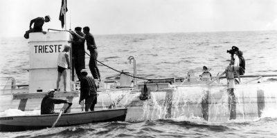 La gran storia del batiscafo Trieste sul fondo dell'oceano