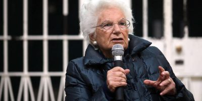 Liliana Segre sulla strada di Verona intitolata ad Almirante: «Povera strada!»