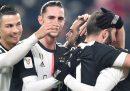 La Juventus ha battuto 3-1 la Roma e si è qualificata alle semifinali di Coppa Italia