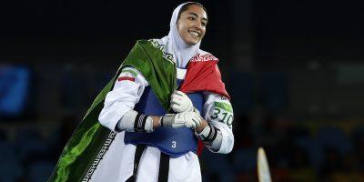 L'atleta Kimia Alizadeh, unica donna iraniana vincitrice di una medaglia olimpica, ha lasciato l'Iran