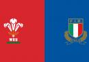 Galles-Italia del Sei Nazioni di rugby in TV e in streaming