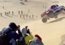 L'incidente di Fernando Alonso sulle dune del Rally Dakar