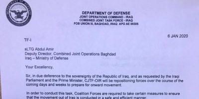 Gli Stati Uniti non hanno annunciato il ritiro dall'Iraq