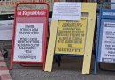 Quanto vendono i quotidiani, rispetto a sei anni fa