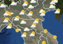 Le previsioni meteo per mercoledì 22 gennaio