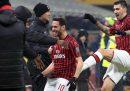 Il Milan si è qualificato alle semifinali di Coppa Italia