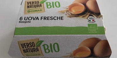 Sono stati ritirati alcuni lotti di uova biologiche per il rischio di contaminazione