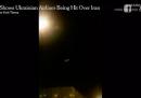 In Iran è stata arrestata una persona accusata di aver girato il video che mostrava l'abbattimento dell'aereo ucraino