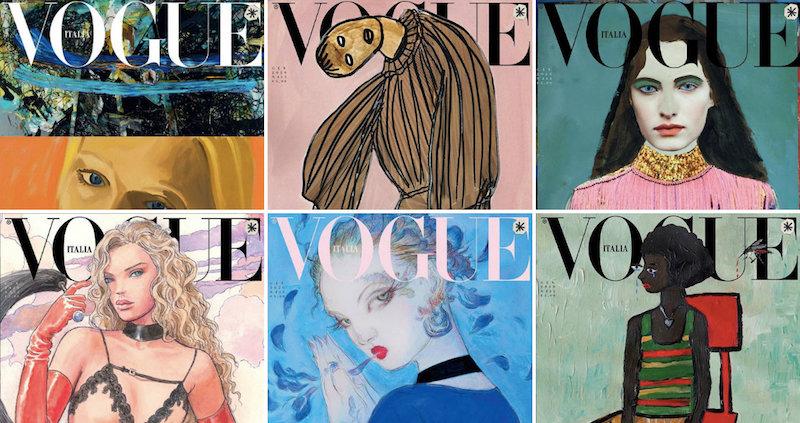 Il numero di Vogue Italia senza foto - Il Post