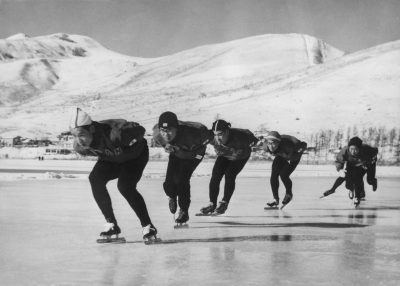 Preparazione alle Olimpiadi del 1960