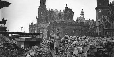 Il bombardamento di Dresda, 75 anni fa