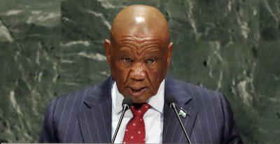 Il primo ministro del Lesotho verrà incriminato per l'omicidio della sua ex moglie