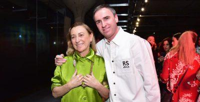 Lo stilista Raf Simons è stato scelto come co-direttore creativo di Prada