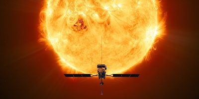 È iniziato il viaggio di Solar Orbiter verso il Sole