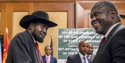 L'ex capo dei ribelli del Sud Sudan ha accettato di formare un governo di unità nazionale