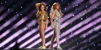 Lo show del Super Bowl con Shakira e Jennifer Lopez