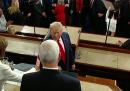 Il video di Nancy Pelosi che straccia il discorso di Trump sullo stato dell'Unione
