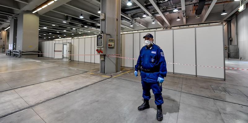 Come sarà l'ospedale nella Fiera di Milano