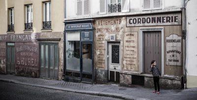 A Parigi è rimasto il set di un film ambientato negli anni Quaranta