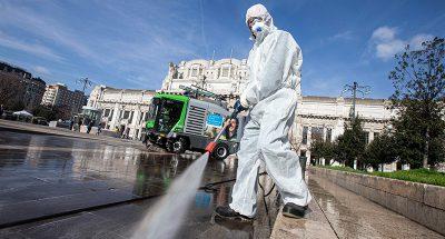 È utile disinfettare le strade contro il coronavirus?