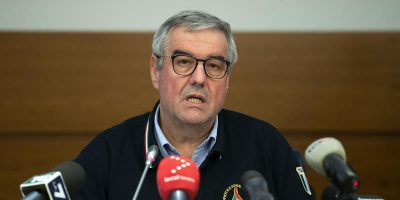 I contagiati in Italia potrebbero essere dieci volte di più, dice Borrelli