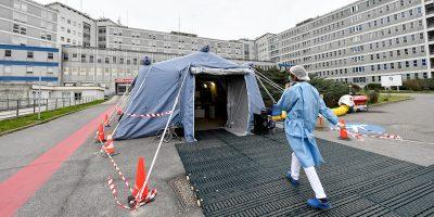 La grave situazione negli ospedali della Lombardia per il coronavirus