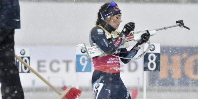 Dorothea Wierer ha vinto di nuovo la Coppa del mondo di biathlon