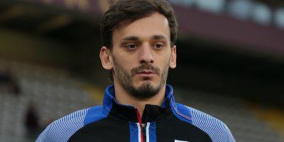 Manolo Gabbiadini della Sampdoria è risultato positivo al coronavirus