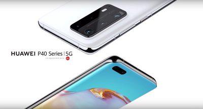 I nuovi Huawei P40 e P40 Pro