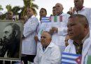 Oggi sono arrivati in Lombardia 52 medici e infermieri cubani specializzati nel trattamento di malattie infettive