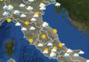 Le previsioni meteo per venerdì 6 marzo