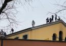 Alcuni detenuti sono saliti sul tetto del carcere San Vittore di Milano
