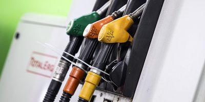 La protesta dei benzinai
