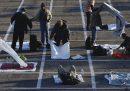 A Las Vegas centinaia di persone senza dimora sono state