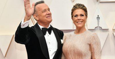Tom Hanks e sua moglie, Rita Wilson, sono risultati positivi al coronavirus