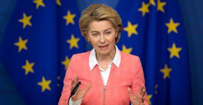 Ursula von der Leyen ha proposto di chiudere i confini esterni dell'Unione Europea per almeno 30 giorni a causa del coronavirus