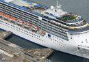 In Giappone c'è una nave da crociera con 91 persone positive a bordo