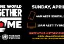 """Stasera e stanotte sarà trasmesso in tutto il mondo un grande concerto a distanza, """"One World: Together At Home"""""""