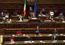 Le foto di martedì in Parlamento