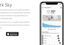 Apple ha acquistato l'app di previsioni meteo Dark Sky